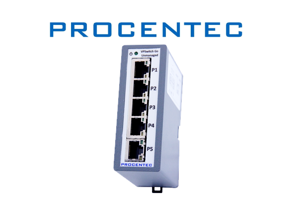 PROCENTEC Unmanaged VPSwitch